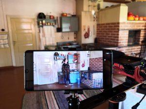 Videon kuvausta älypuhelimella